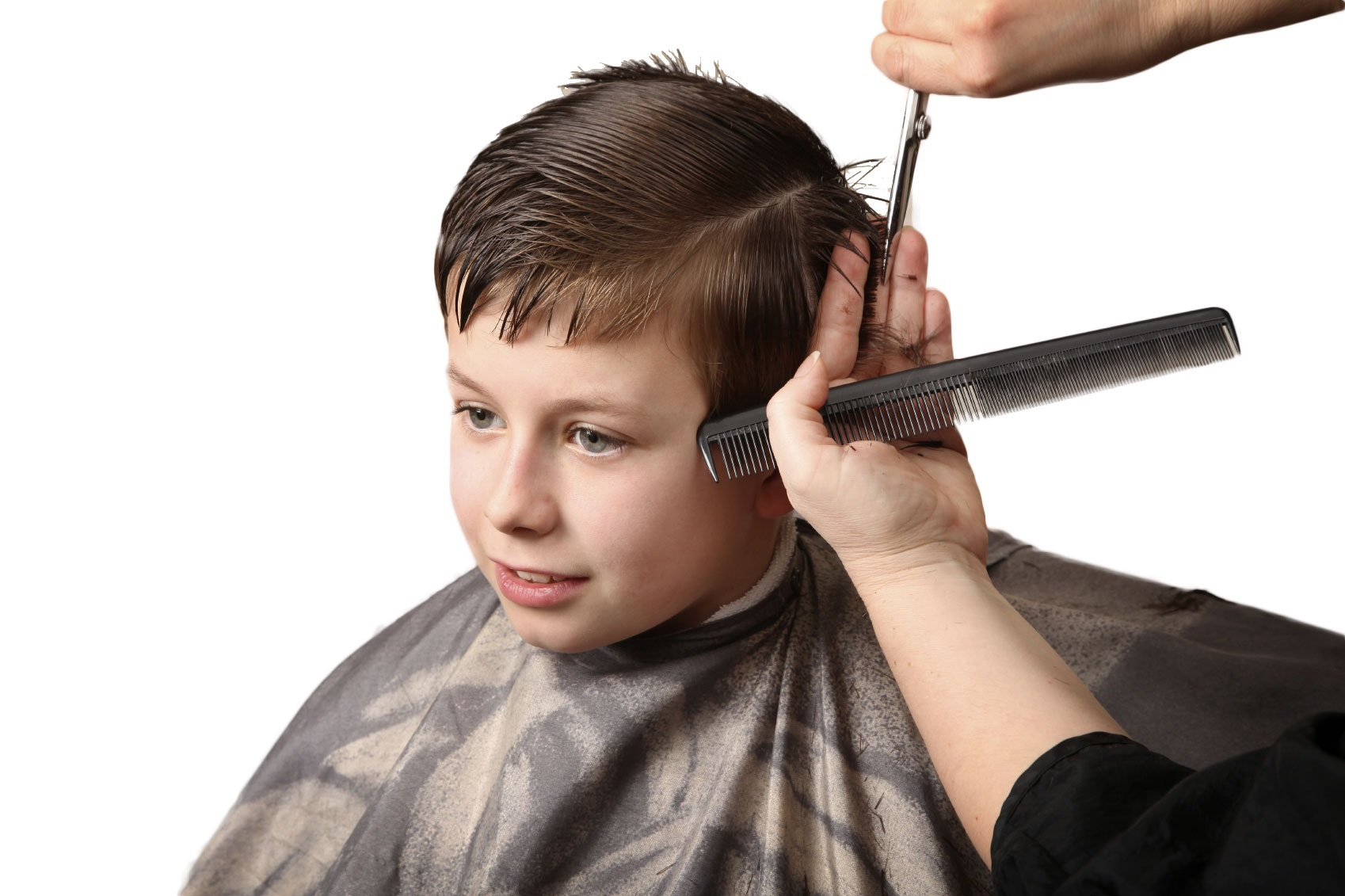 Cut Hair Freely for Poor Children