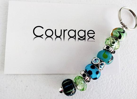 Courage Key Ring