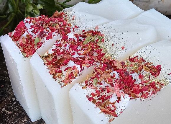 Fresh Pomegranate & Roses