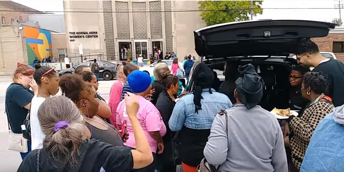 Women Shelter Giving
