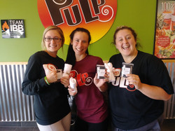 Giving to Smoothie Shop Employees