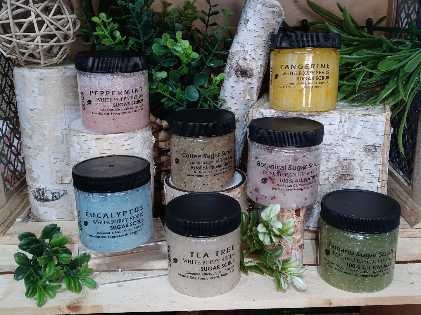 Sugar Scrub Collection