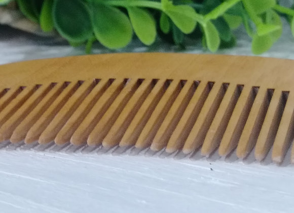 Men's Wooden Beard Comb