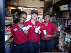 Giving to Chick Fila l Employees