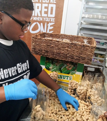 Preparing Peanuts for the Homeless