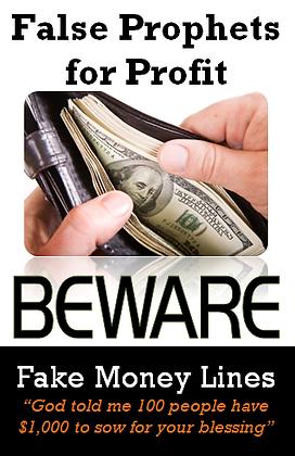 False Prophets for Profit