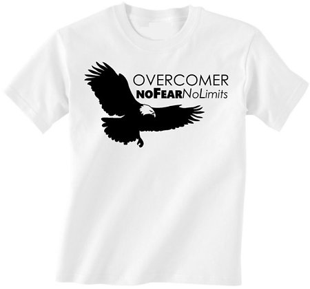 The Overcomers T Shirt w/Eagle Phone Decal
