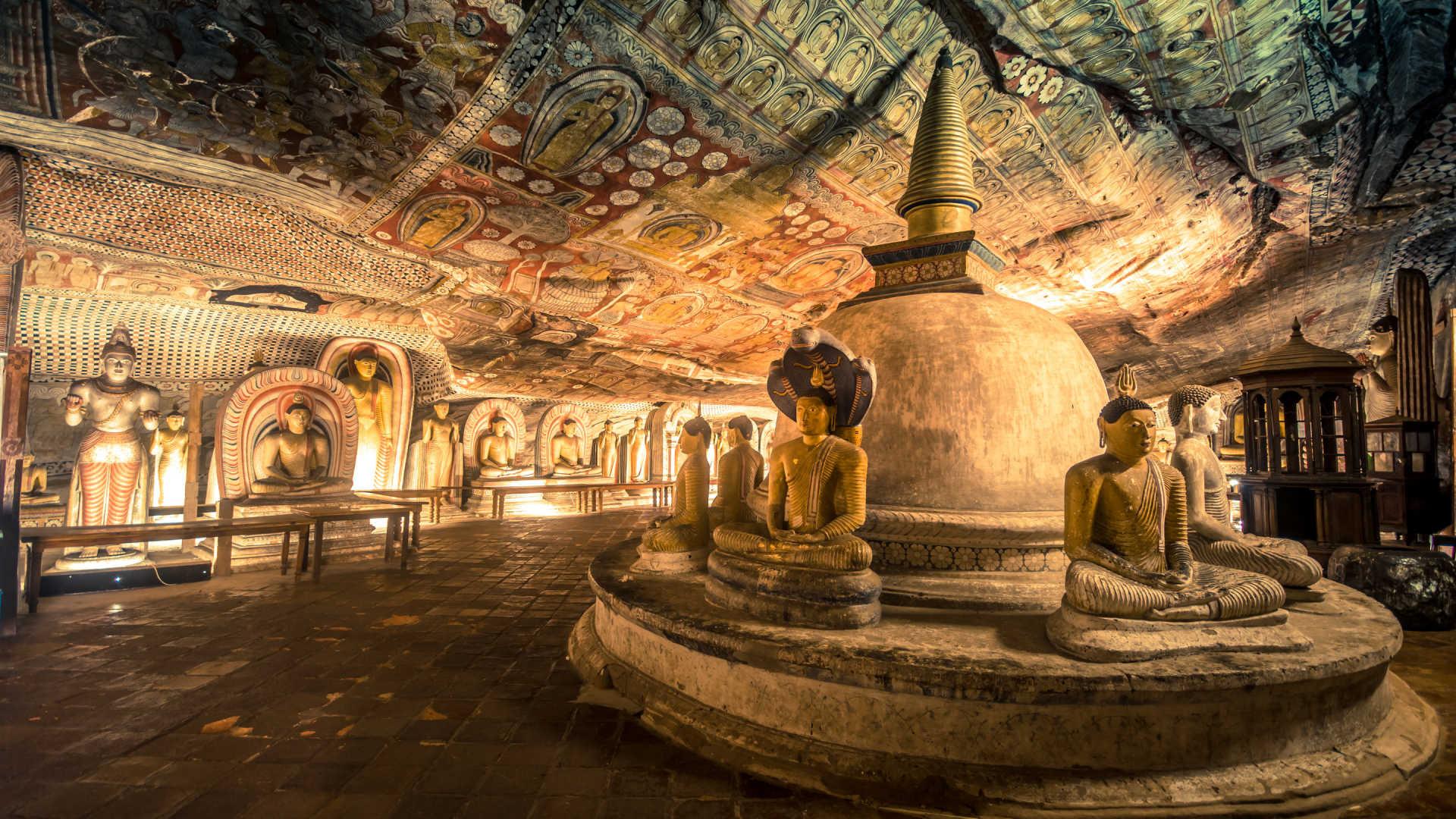 Anuradhapura and Dambulla