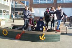 Onze nieuwe boot