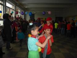 Schoolfeest op Overleie