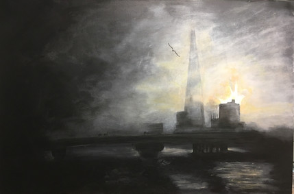 Foggy Sunrise, The Shard