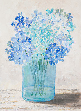 Blue Hydrangeas 2