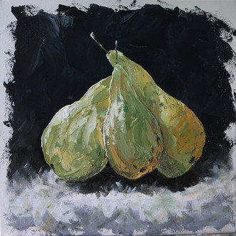 Three Pears (For Sale).