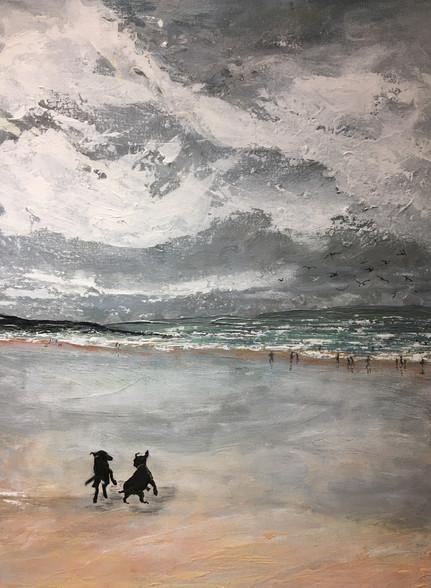 Winter. Croyde Beach
