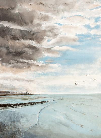 Low Tide, Bulverhythe Beach
