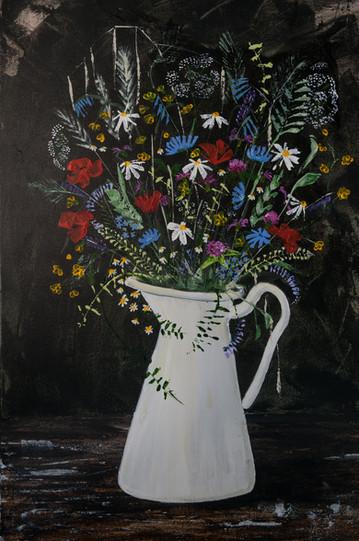 Jug of Flowers 2
