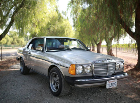 Smoke Silver California Diesel Coupe: 1985 300CD