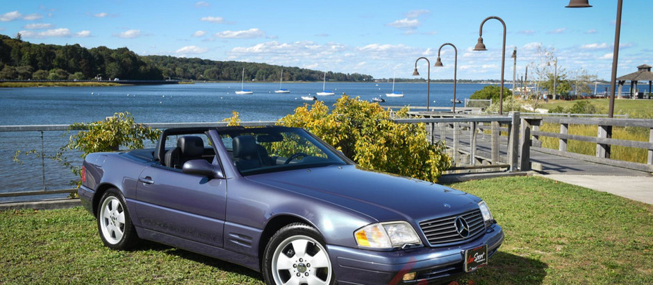 Future Classic in Shades of Blue: 2000 SL500