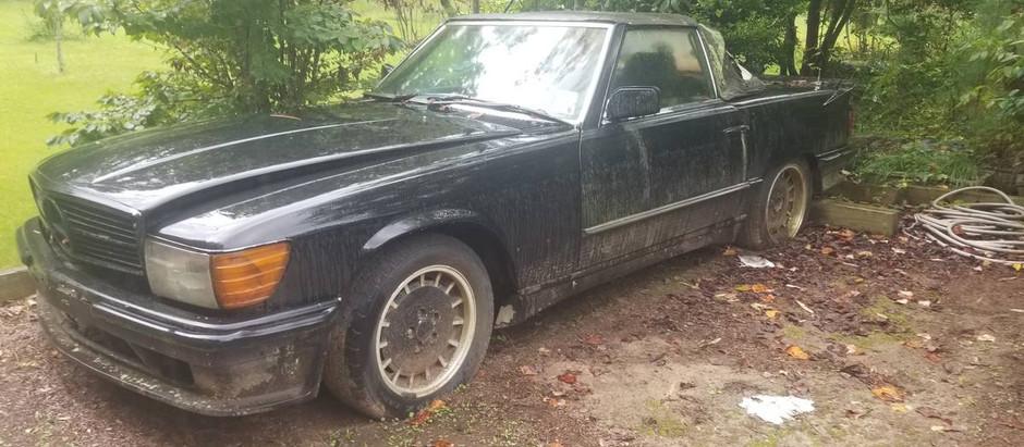 Begging for a Restoration: 1973 450SL (Lorinser?)