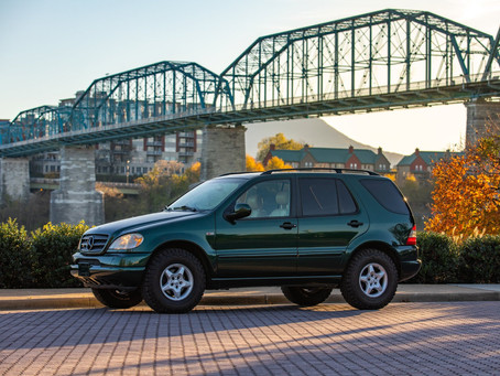 Easy Entry to the Green on Tan Club: 2000 ML320 w/ 70k Miles