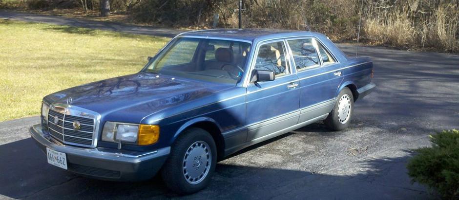 1-Owner, Garage Kept: 1987 420SEL