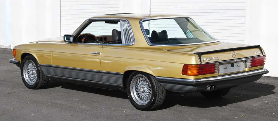 Icon Gold Coupe: 1979 450SLC 5.0