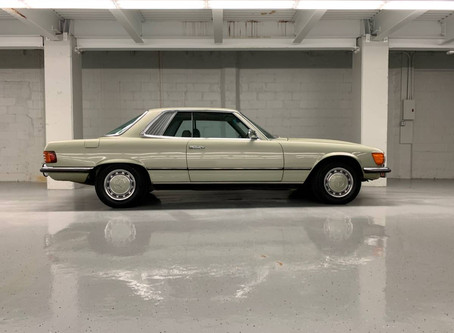 70's Coupe with 70's Colors: 1973 450SLC