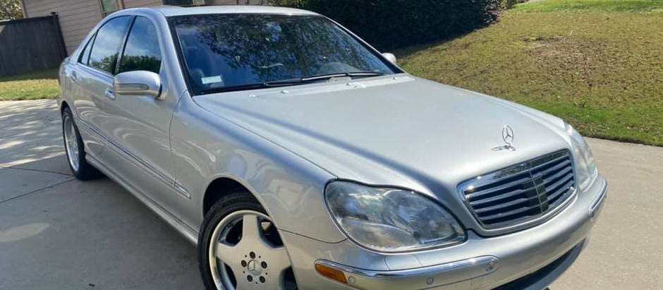 Loaded Options, Easy Price: 2001 S500 Sport