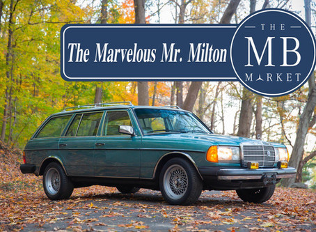 The Marvelous Mr. Milton: A Million-Kilometer Mercedes Love Affair in 1,200 Pages of Records