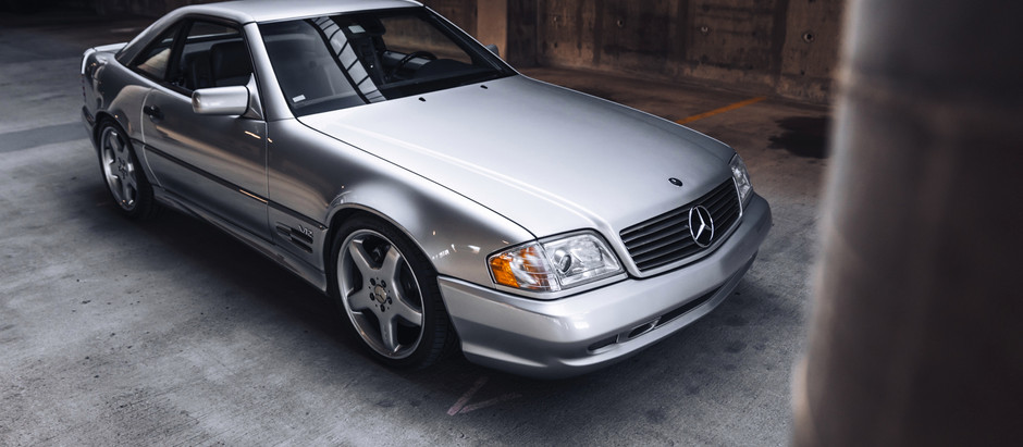 The Tiniest Freight Train on the Market: 1998 SL74 RENNtech