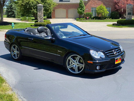 The Time to Buy is Now: 2007 CLK63 AMG Cabriolet