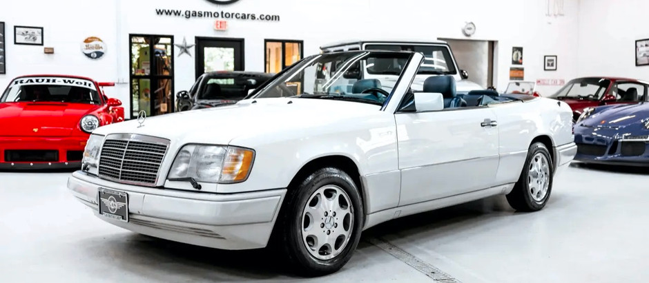 Sorted Cab ISO New Home: 1995 E320 Cabriolet