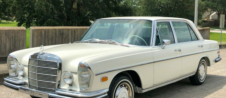 Defining Cleanliness: 1970 300SEL 6.3