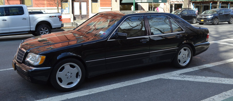 Flagship of the 90's: 1997 S420