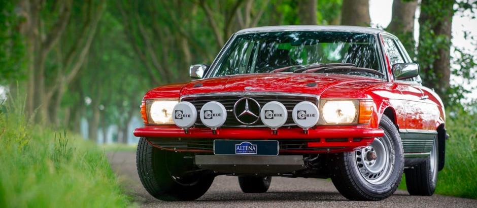 From Paris to Dakar in Style: 1976 280SLC Rallye