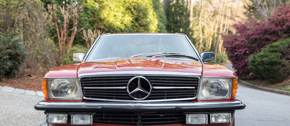 Sold New from Lorinser Mercedes-Benz (1979 450SL Lorinser)