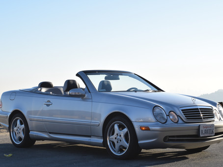 Turn of the Century Exclusivity: 2001 CLK430 Sport w/28k Miles