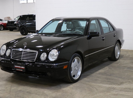 This is Responsible Ownership: 1999 E55 AMG