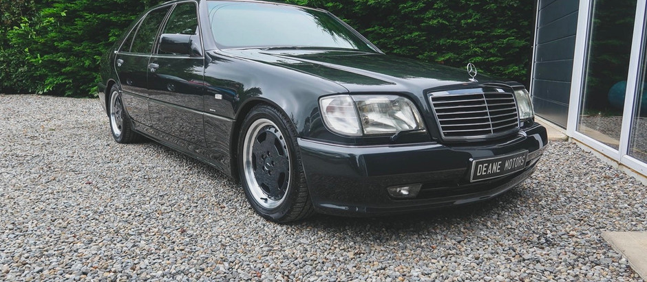 90's Supercar in Disguise: 1992 S70 AMG