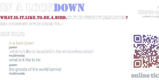 """Online Ticket  (Exclusive) for """"In a Lockdown Vol.1"""" can bilir"""