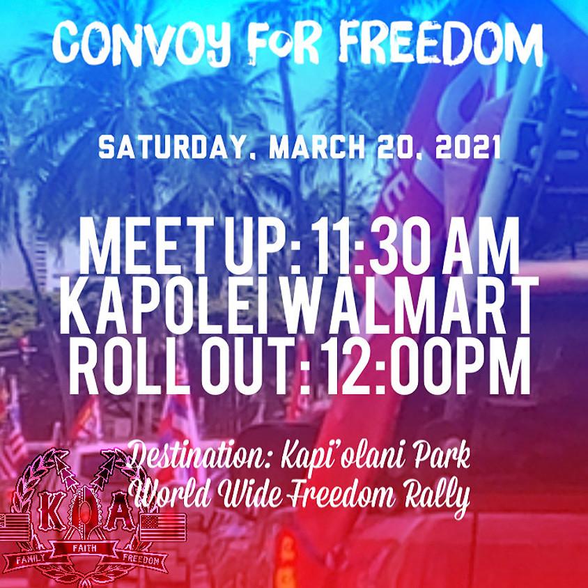 📢 Freedom KOATRON - Worldwide Rally For Freedom & Democracy