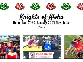 KOA Bi-Monthly Newsletter - Issue #2