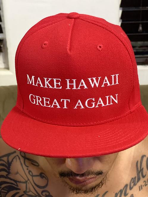 Make HAWAII Great Again Hats- Premium Fit