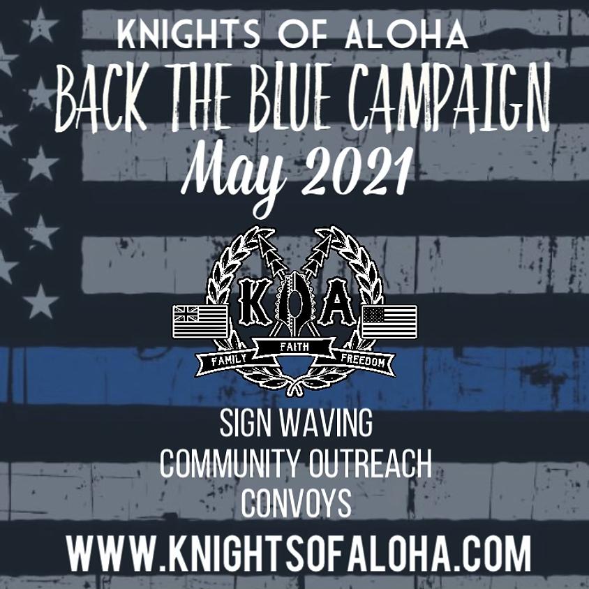 KOA Back The Blue Campaign