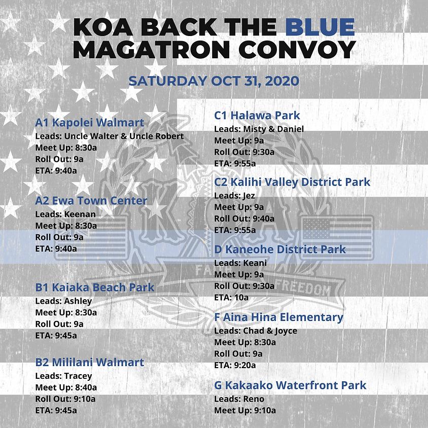 KOA Back The Blue MAGATron