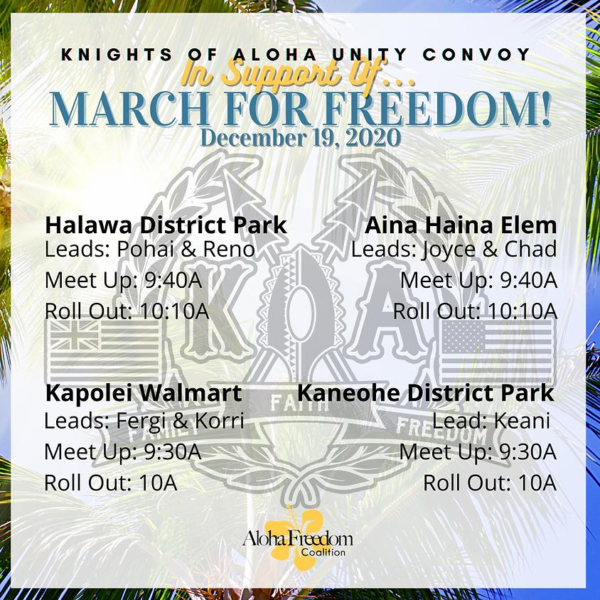 Knights of Aloha Unity Convoy