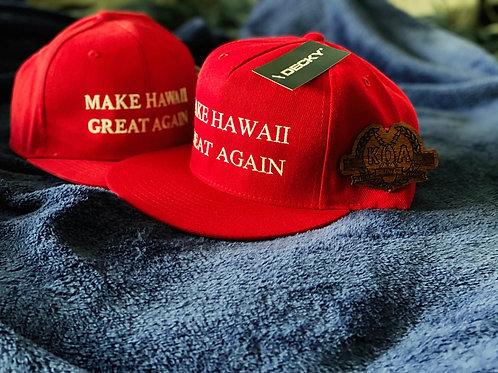 KOA- Make HAWAII Great Again Hats- Premium Fit