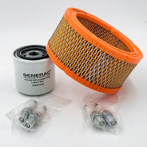 Generac 45kW Liquid Cooled 2.4L Scheduled Maintenance Kit - Part #6172