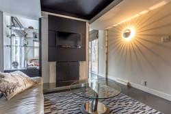 Module foyer et meuble télévision
