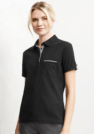 LADIES EDGE POLO   P305LS